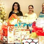 adopt a family gifts and volunteers