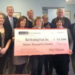 Red Stocking Fund Holding Check